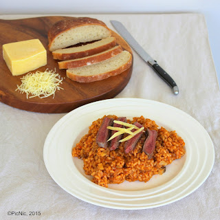 Beef Risotto.
