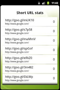 Goo.gl URL shortener - screenshot thumbnail