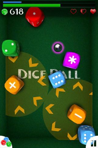 DiceBall free- screenshot