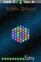Screenshot of Bubble Spinner