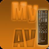 MyAV for Sky+TV+BD+AVR Remote