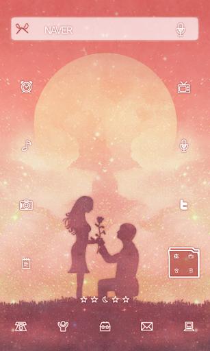 moonlight Dodol launcher theme