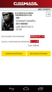 CINEMARK ARGENTINA- screenshot thumbnail