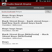 Music search and downloader