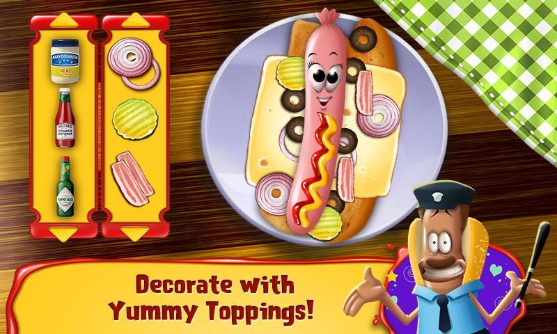 Hot Dog Hero Crazy Chef Game