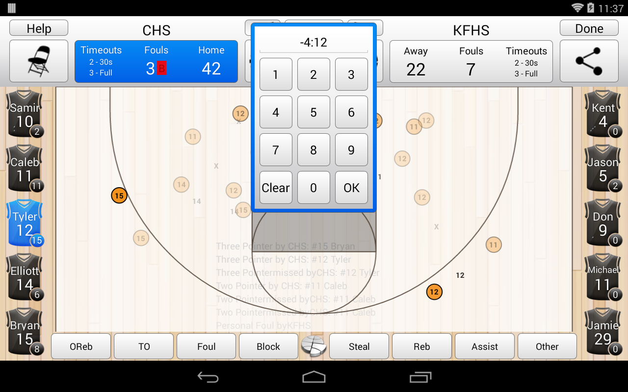 basketball stat tracker takes basketball statistics to a new level ...
