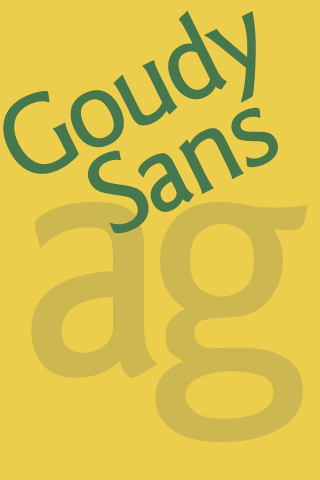Goudy Sans FlipFont - screenshot