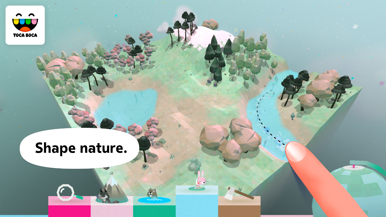 Toca Nature- screenshot