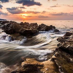 Deeply Calm by Sonny Saban - Landscapes Sunsets & Sunrises ( nusa tenggara, tiilangga, wallpaper, termanu, travel, sasando, baa, rote ndao )