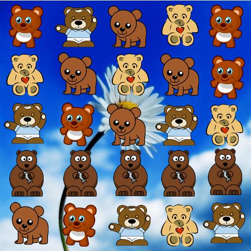 Bear Match Game LOGO-APP點子