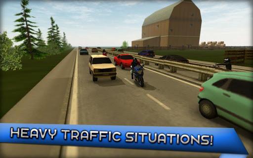 Motorcycle Driving 3D 1.4.0 screenshots 5
