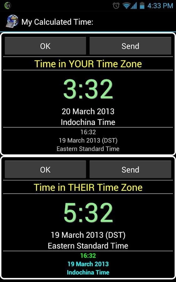 Time zone longitude Calculator