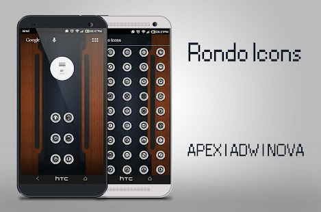 RONDO ICONS APEX NOVA ADW HOLA - screenshot thumbnail