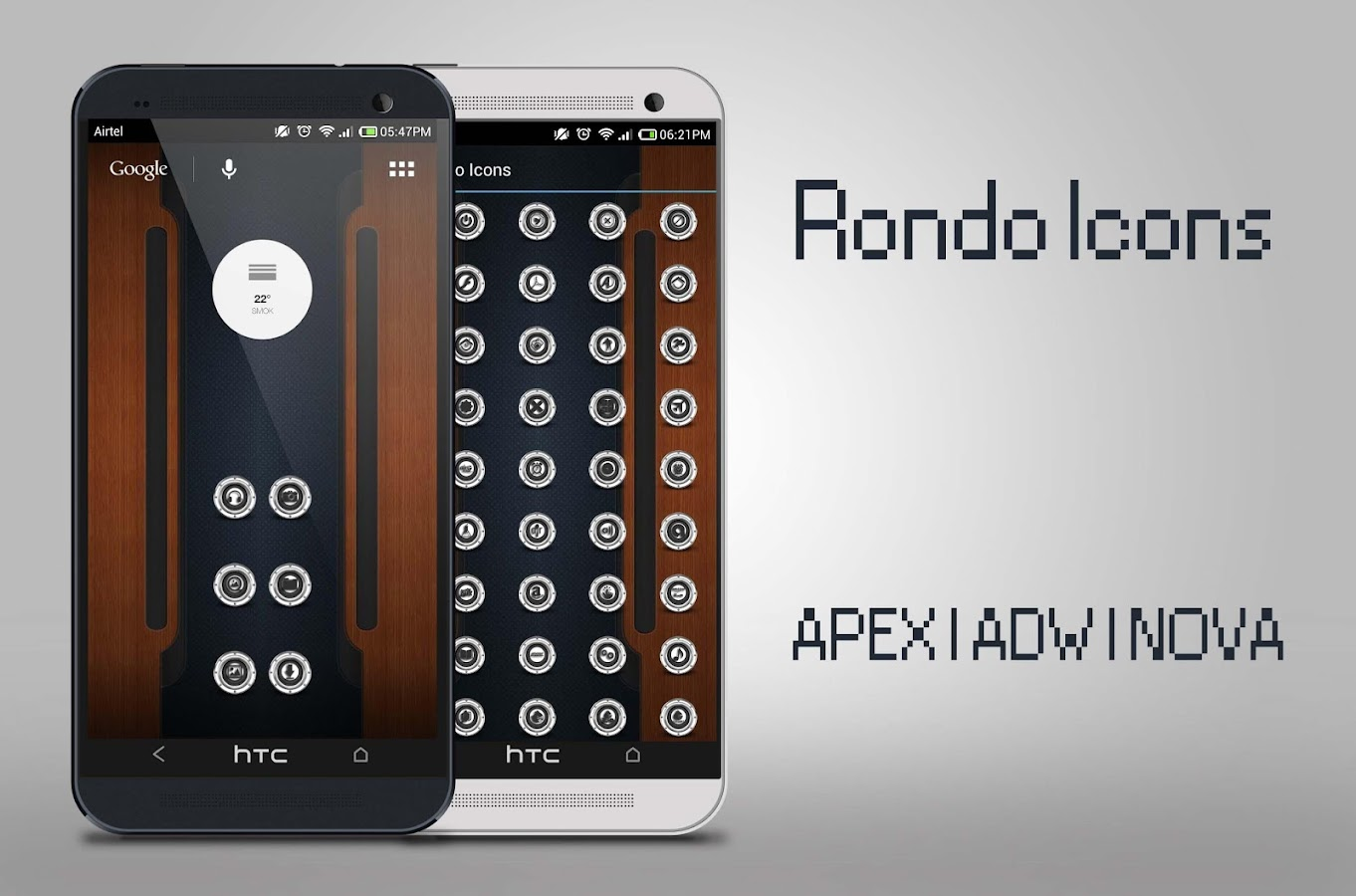 RONDO ICONS APEX NOVA ADW HOLA - screenshot