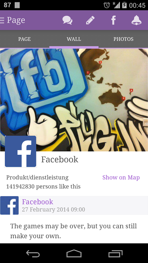 Flipster for Facebook - screenshot