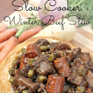 Winter Beef Stew with Campbell's® Slow Cooker Sauce