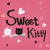 App Sweet Kitty Atom Theme APK for Windows Phone