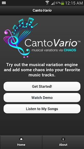 CantoVario MIDI