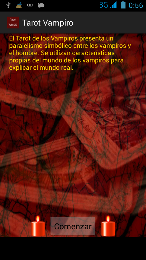 Tarot Vampiro- screenshot