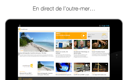 La 1ère, télé et radio- screenshot thumbnail
