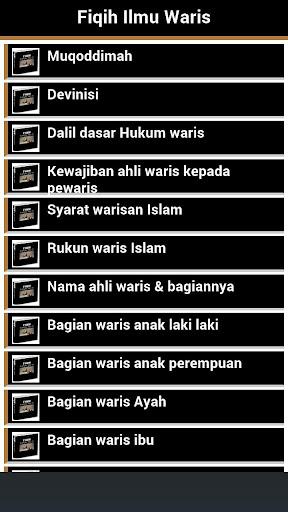 Fiqih Waris Islam