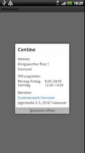 Mensaplan lite - screenshot thumbnail