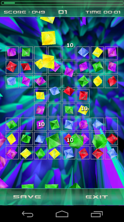 Jewelz 3D - screenshot