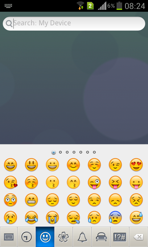 Emoji Keyboard - screenshot