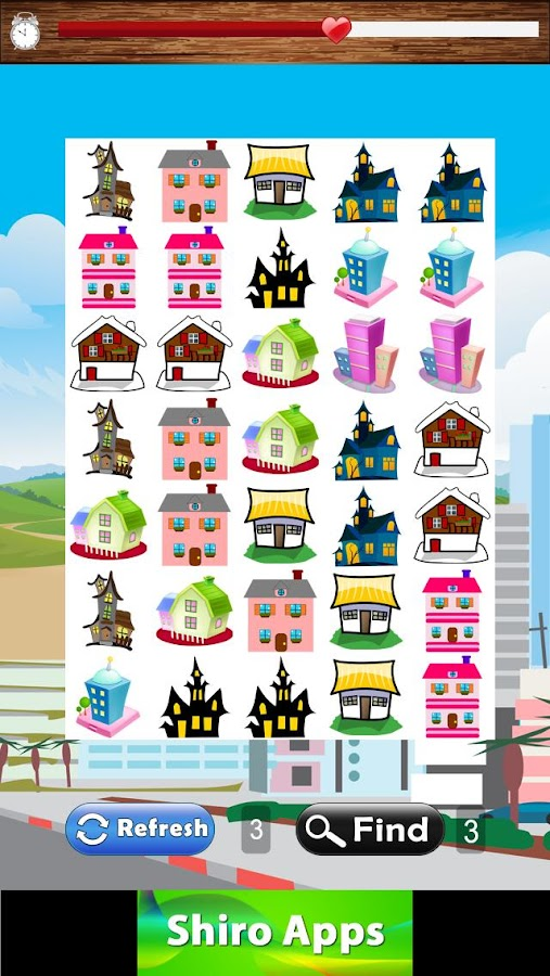 Building Match Games for Kids- screenshot