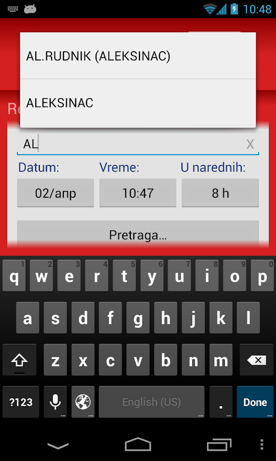 Niš-ekspres- screenshot