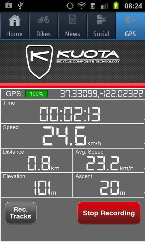 KUOTA - screenshot
