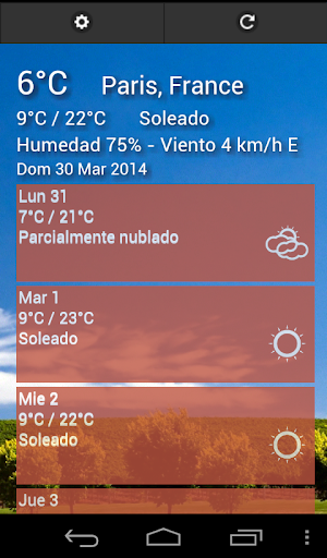 Weather - Clima