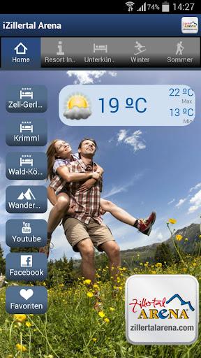 【免費旅遊App】iZillertal Arena-APP點子
