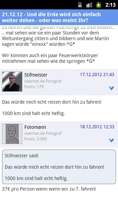 seechat.de BODENSEE COMMUNITY- screenshot