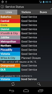 London Transport Live - screenshot thumbnail