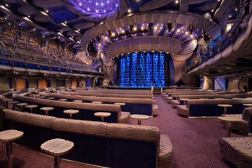 Carnival-Splendor-Main-Showroom - Look for a wide range of live shows in the Main Showroom aboard Carnival Splendor.