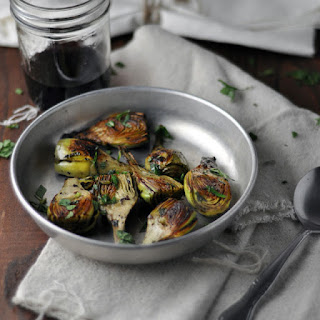 Pan Fried Baby Artichokes with Mint and Lemon