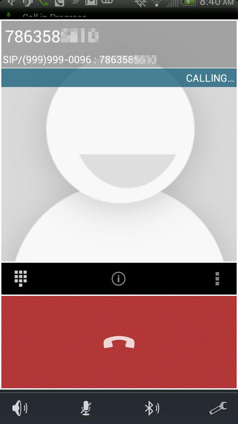 VoX Mobile VoIP / SIP Phone - screenshot