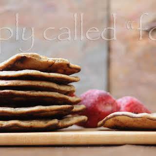 Vegan Buckwheat Pancake.
