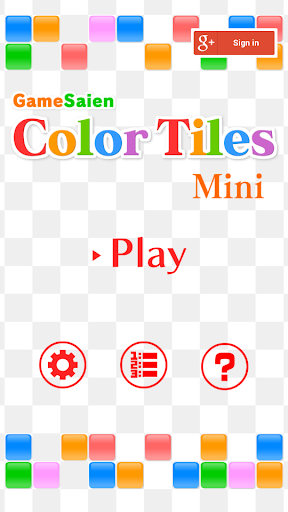 Color Tiles Mini
