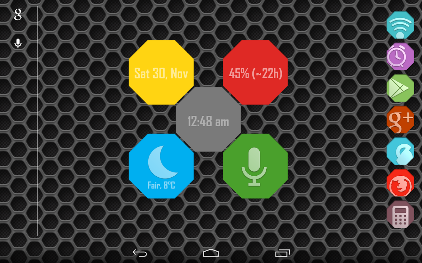 Octy for Zooper Widget Pro - screenshot