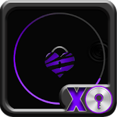 GO Locker Theme - Purple Neon
