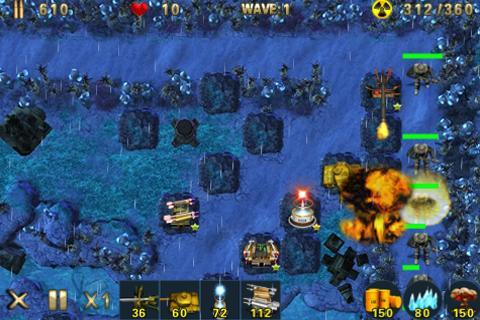 Tank Defense Games - screenshot