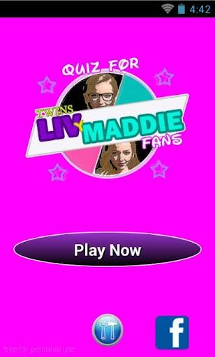 Quiz for Twin Liv y Maddie Fan