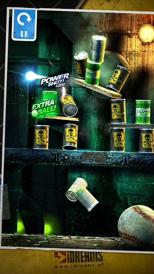 Screenshots of Can Knockdown 3 for iPhone