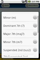 Screenshot of Musician's Assistant Basic