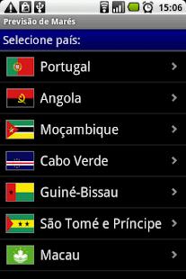 Previsão de Marés- screenshot thumbnail