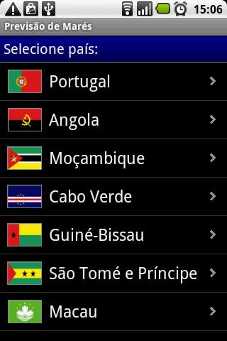 Previsão de Marés- screenshot