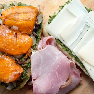 Persimmon Ham Sandwich.