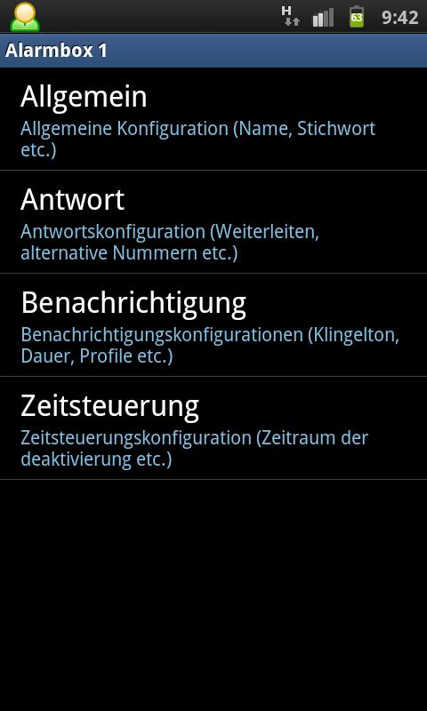 Alarm Box - screenshot